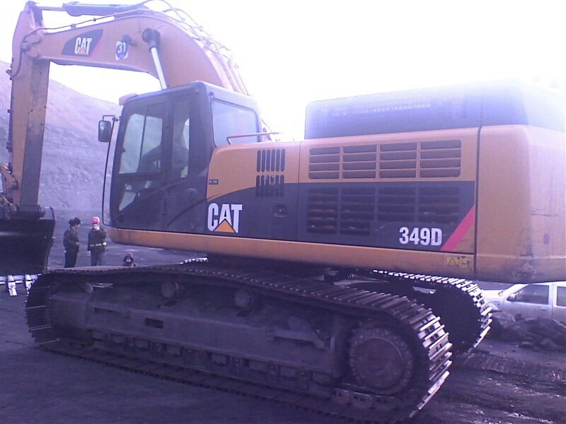 349D caterpillar larger used excavator USA