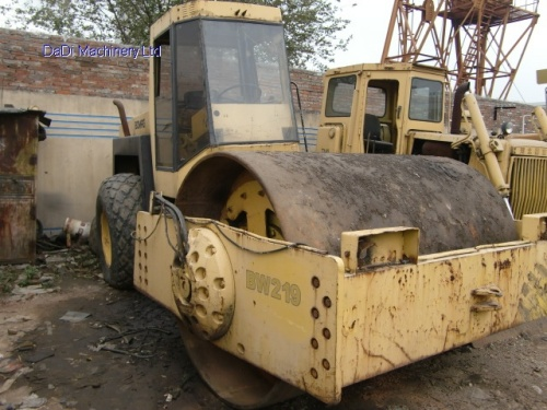 Used BOMAG 219D Road Roller