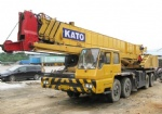 55T original truck crane from japan mobile crane