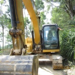 312d caterpillar small excavator for sale
