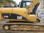 315DL used caterpillar excavator