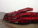 40T Lowbed Semi-trailer with 3 Axles