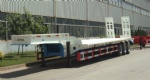 70T Low Bed Semi Trailer with 3 alex