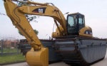 320C swamp buggy Used Caterpillar