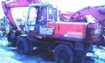 EX160WD wheel excavator for sale hitachi karachi