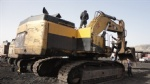 385C caterpillar larger used excavator