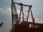 50T KOBELCO Crawler 7055  Dragline Cranes For Sale