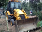 Used JCB 3CX front end loader Used JCB 4CX