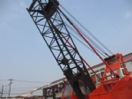 KH125 hitachi used crane 35T crawler lift crane