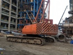 150T KH700-2 used Hydraulic crawler crane hitachi