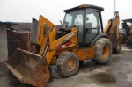 CASE 590 backhoe loader for sale