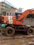 used wheel excavator Hitachi EX120WD