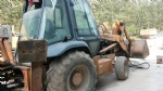 Used front end loader second hand CASE 580