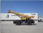 XJCM 80T Rough terrain crane QRY80  brand new china  RT crane