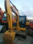Used komatsu excavator PC55m japan mini excavator