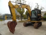 307D second hand CATREPILLAR digger mini  excavator for sale