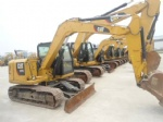 307E second hand CATREPILLAR digger mini  excavator for sale shanghai