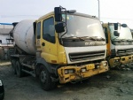 Second hand Isuzu used concrete mixer japan truck mixer for sale