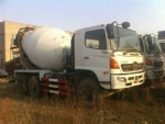 Second hand hino used concrete mixer japan truck mixer for sale
