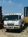 Second hand Fuso used concrete mixer mitsubishi truck mixer for sale