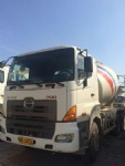 Second hand mixer Hino 700 used concrete mixer   Hino truck mixer for sale