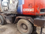 used wheel excavator hitachi excavator EX100WD-2