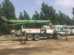 used concrete pump for sale Schwing 36 meter isuzu truck