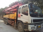 37m Sany used concrete pump for sale china truck pump