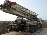37m 40m 45m Zoomlion used concrete pump for sale china truck pump