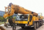 2009 70T QY70K used XCMG truck crane