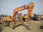 original colour hitachi wheel excavator Ex100wd-1 ex100wd-2