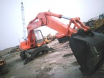 original colour hitachi wheel excavator Ex160wd-1 ex100wd-2