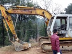 Second hand sumitomo excavtor 120A 12t excavator for sale