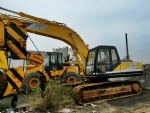 Second hand kobelco used excavator SK200-5 Sk200 20t digger machine