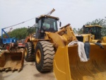 Caterpillar used wheel loader 966h second hand front end loader