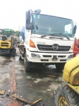 used HINO concrete mixer  500 mixers truck made in japan