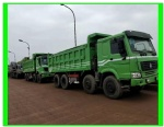 Used HOWO dump truck tractor for sale from Sinotruck tipper tractor made in china