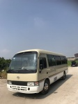 29 seats used Toyota coaster buses mini bus from japan