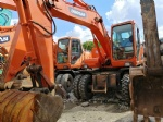 Used Doosan Wheel excavator DH140lc-7 DH150lc-7 made in Korea