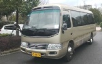Used Japan TOYOTA coaster mini bus school buses  diesel engine