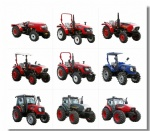 China Professional Factory Supply 130 HP 4X4 Wheel Diesel Agricultural Farm Tractor